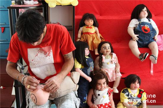泰国古曼娃娃神在哪怎么养请怎么吃饭?娃娃神真的会害人会长大图