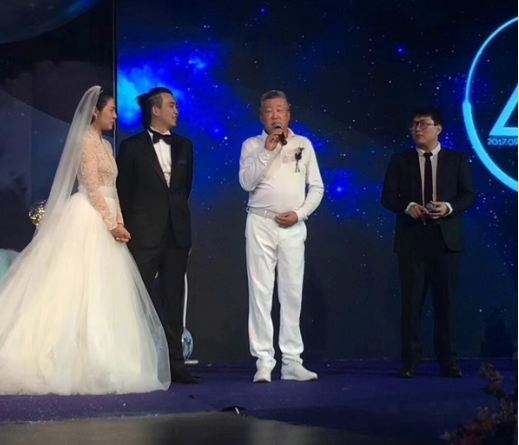 新还珠柳红扮演者周放婚礼现场图老公刘畅资料?周放背景性感照片