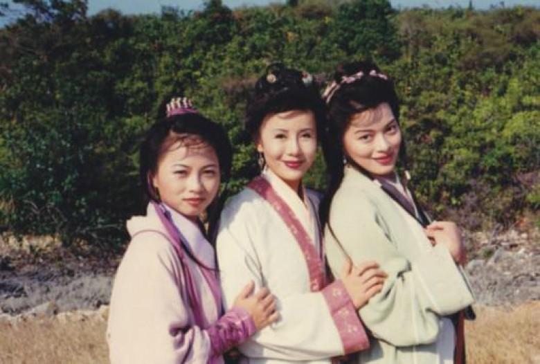 天龙八部女配角马清仪葬礼现场图 马清仪选美后整容对比几个孩子