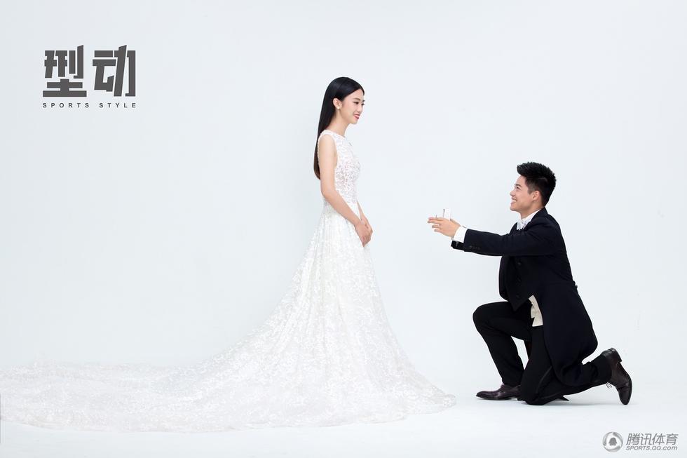 苏炳添十月婚礼最新消息婚纱照曝光,  揭苏炳添老婆是谁身份照片