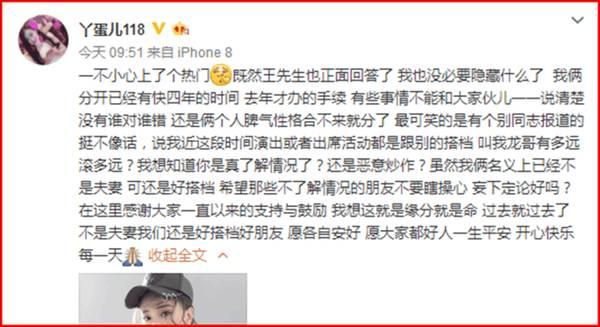 丫蛋王金龙离婚始末赵本山说了啥财产怎么分?丫蛋离婚咋不要孩子?