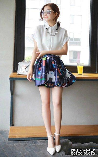 紫色雪纺衫搭配_白色雪纺衫怎么搭配 雪纺衫搭配牛仔短裙可以不_168看看网