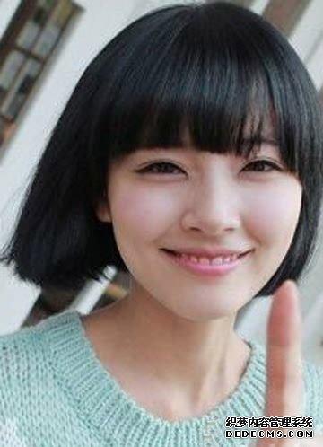胖脸女生最佳短发发型 什么样的刘海显脸瘦