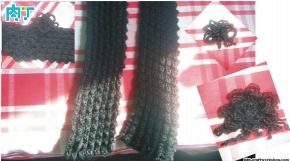 围巾的各种织法图解,编织围巾花样大全各种围巾的