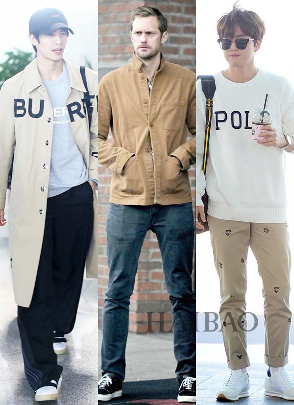会穿衣的男人有多迷人?看看他们吧!2019第3期「海报男明星街拍