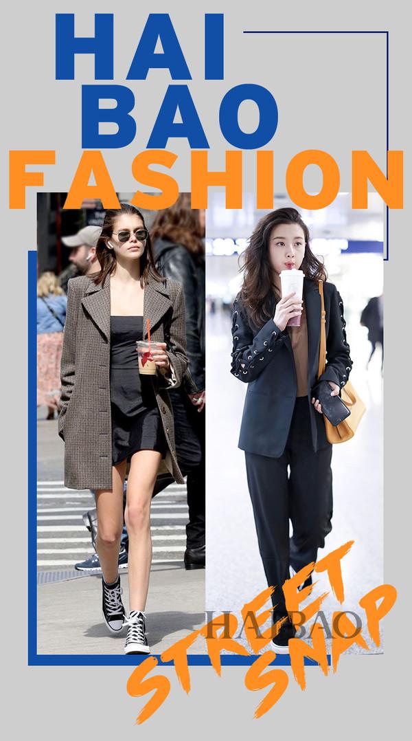 穿衣显瘦的日子,都是好~日~子~!2019第13期「海报女明星街拍」