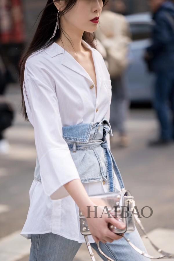 2019秋冬上海时装周街拍——看魔都时尚达人演绎最新高街潮流!
