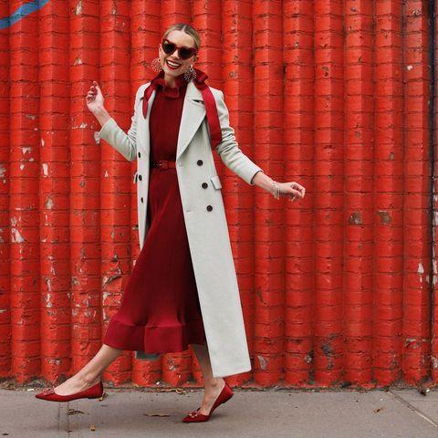 给春天一点颜色看看!时尚博主Blair Eadie的撞色搭配你学会了吗